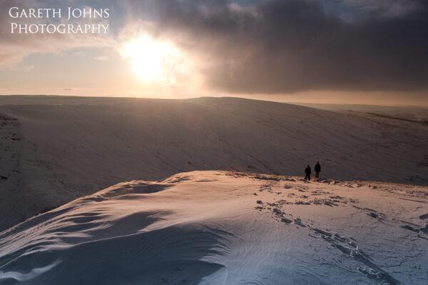Brecon Beacons in winter