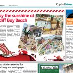 Stock images supplied to Cardiff Council for the bilingual newspaper