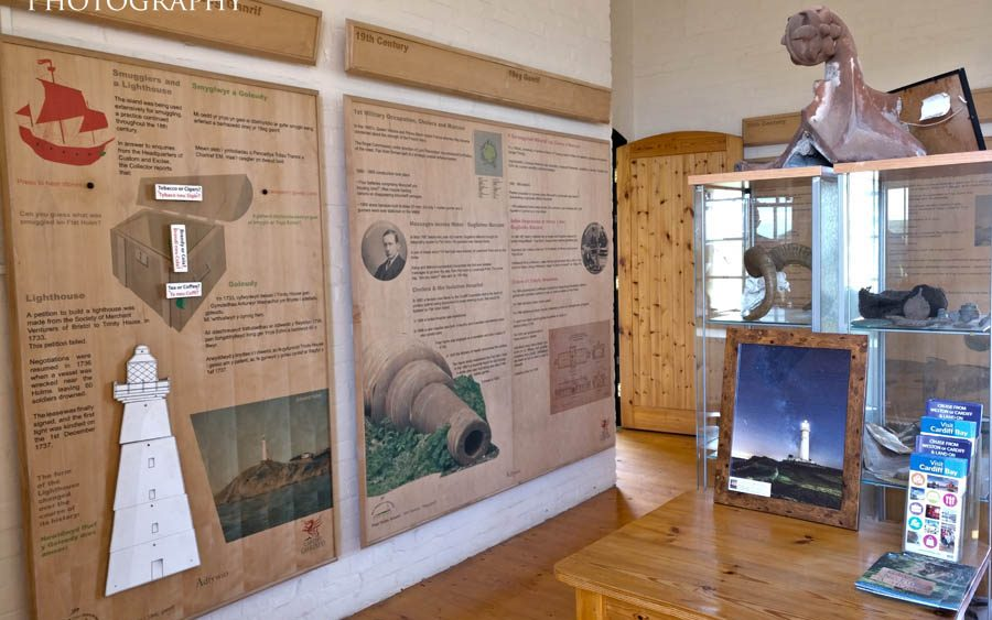 The Flat Holm Island museum